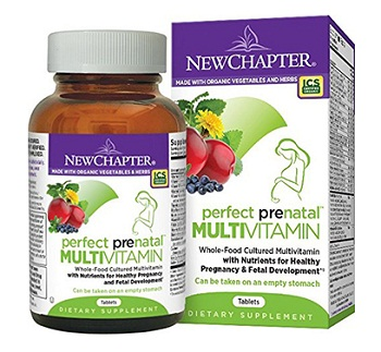 New Chapter Perfect Prenatal Multivitamin 270 เม็ด
